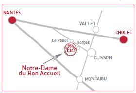 Plan d'accès NDBA