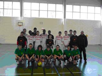Sport-Football en salle