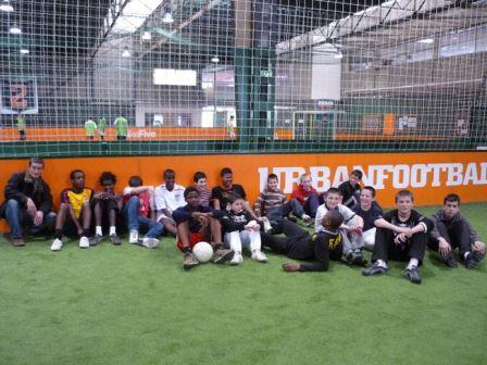 Sport- Football en salle